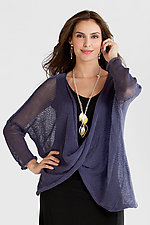 Long Sleeve Hoopla Sweater by Amy Brill Sweaters  (Sweater)