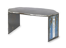 Ford 4000 Coffee Table by Ben Gatski and Kate Gatski (Metal Coffee Table)