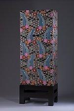 Waterfall Cabinet by Jenna Goldberg (Wood Cabinet)