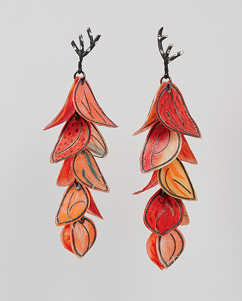 Upturned Petal Blossom Earrings