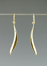 Medium Drop Earrings by Catherine Grisez (Gold & Silver Earrings)