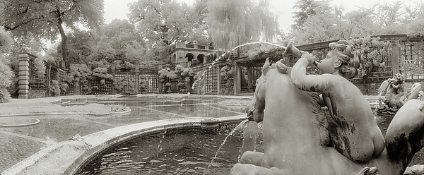 Cherub Fountain - Dumbarton Oaks