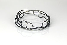 Linkage Bangles by Lauren Blais (Silver Bracelet)