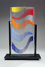 Movement by Ernest Porcelli (Art Glass Sculpture)
