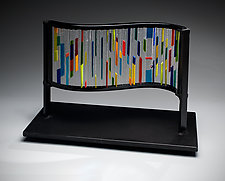 Arcobaleno by Ernest Porcelli (Art Glass Sculpture)