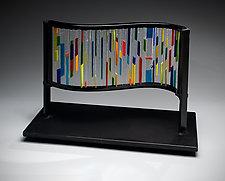 Arcobaleno by Ernest Porcelli (Art Glass Sculpture)