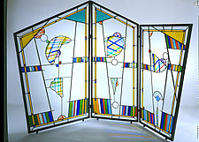 Sprezzatura by Ernest Porcelli (Art Glass Screen)
