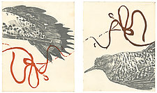 Life Lines by Barbara  Stikker (Etching)