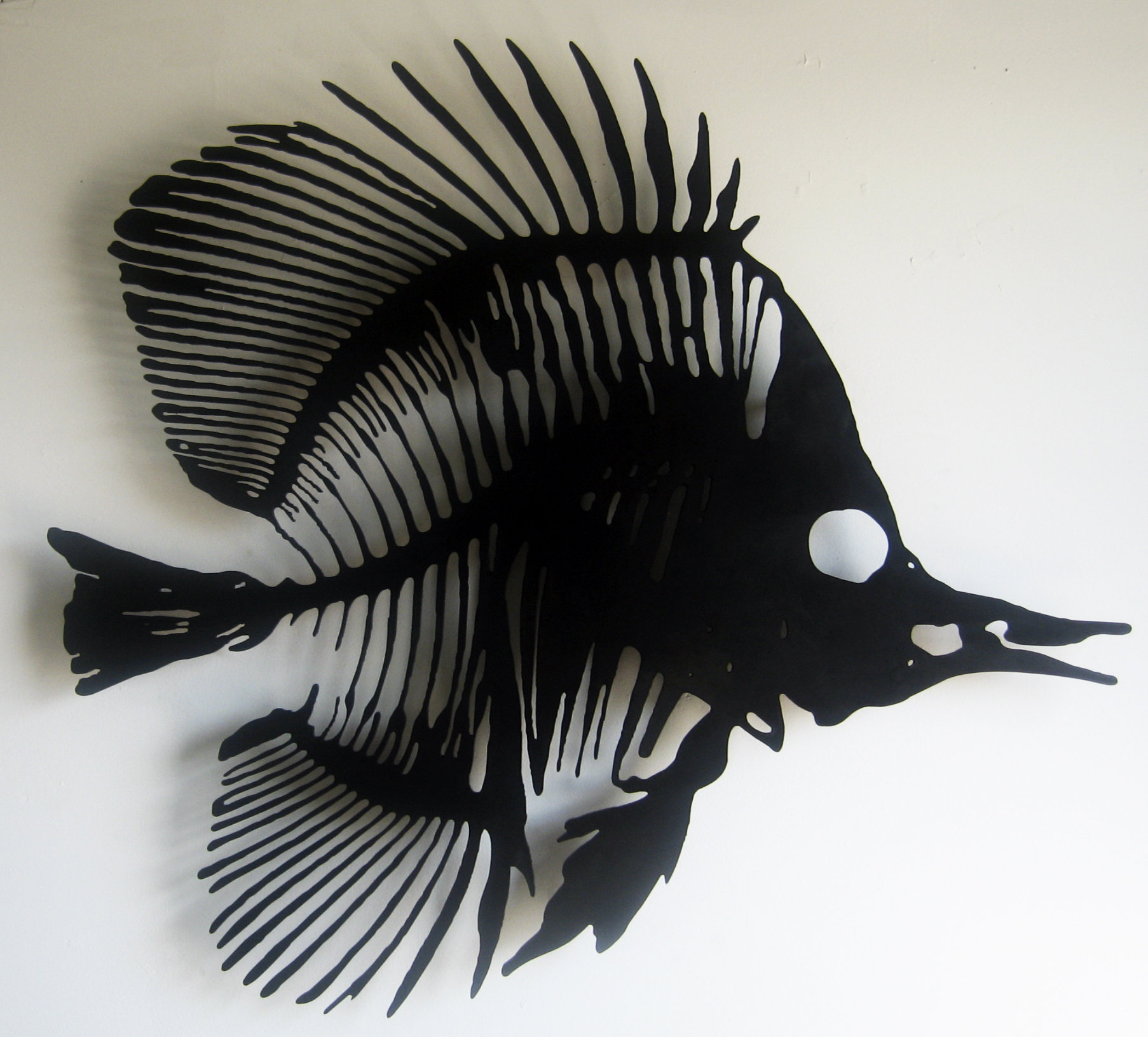 Fish I by Paul Arsenault (Metal Wall Sculpture) | Artful Home