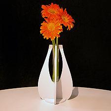 Bud Vase X by John Nalevanko (Aluminum Vase)