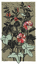 Hollyhock #1 by Ouida  Touchon (Giclée Print)