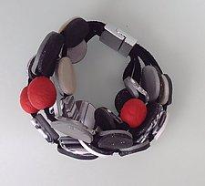 Granada Bracelet by Klara Borbas (Polymer Clay Bracelet)