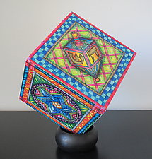 Judaica Block by Gerrie Shapiro (Sculptural Decor)