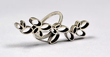 Ovals Rings by Hilary Hachey (Silver Ring)
