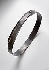 Rivet Bracelet by Peg Fetter (Gold & Steel Bracelet)