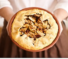Redware Pie Pan by Nathan  Falter (Ceramic Pie Pan)