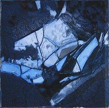 Shattered by Wen Redmond (Fiber Wall Art)