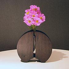Rising Sun Vase by John Nalevanko (Wood Vase)