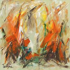 Modern Art 34 by Lynne Taetzsch (Acrylic Painting)