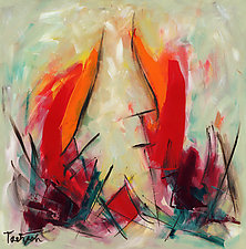 Modern Art Thirty-Six by Lynne Taetzsch (Acrylic Painting)