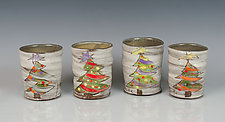 Christmas Tree Mugs by Noelle VanHendrick and Eric Hendrick (Ceramic Mugs)