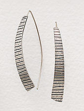 Kate Earrings by Tom McGurrin (Silver Earrings)