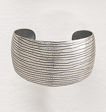 Domed Cuff by Tom McGurrin (Silver Bracelet)