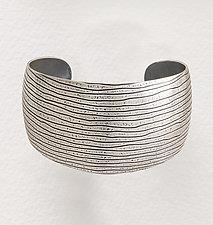 Domed Cuff by Tom McGurrin (Silver Bracelet)