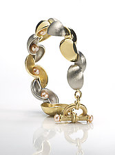 Pod by Alexan Cerna and Gina  Tackett (Gold & Pearl Bracelet)