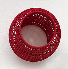 Cage Bangle by Maria  Eife (Nylon Bracelet)