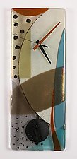 Ascension by Nina  Cambron (Art Glass Clock)