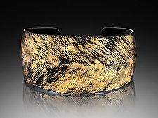Convergence Cuff by Pat Flynn (Iron & Gold Cuff)