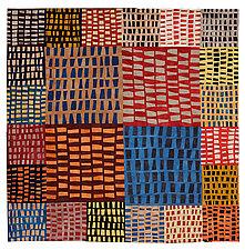 Fields by Janet Steadman (Fiber Wall Art)