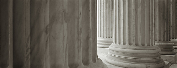 Supreme Court Columns Panoramic #3