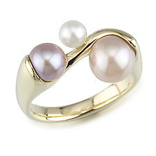 Pearl Ring by Alexan Cerna (Gold & Pearl Ring)
