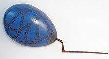 Striker by Ken  Edwards (Wood Wall Sculpture)
