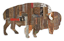 On the Ranch Collection by Dolan Geiman (Mixed-Media Wall Sculpture)