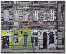 Lodz Windows 1317 by Marilyn Henrion (Fiber Wall Art)