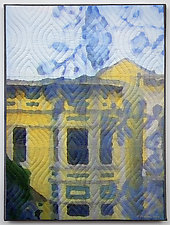 San Francisco Windows 1332 by Marilyn Henrion (Fiber Wall Art)