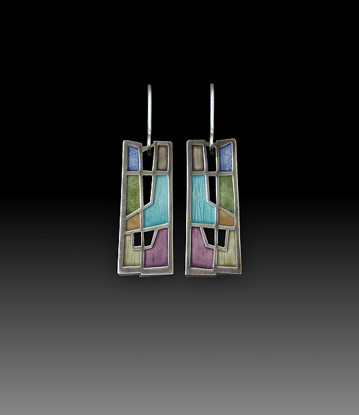 Inner Windows Earrings No. 205