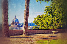 Roma #90v5 2011 by Mel Curtis (Color Photograph)