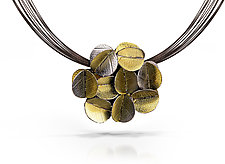 Multiblossom Pendant by Christine MacKellar (Gold & Silver Necklace)