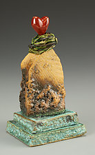 House of Love by Cathy Broski (Ceramic Sculpture)