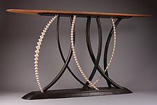 Crosswinds by Dean Pulver (Wood Console Table)