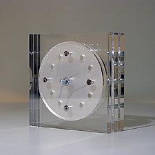 Table Clock AC1 by John Nalevanko (Acrylic Clock)