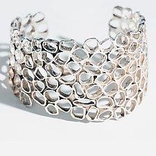 Urban Beehive by Shauna Burke (Silver Bracelet)