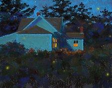 Fireflies I by Suzanne Siegel (Giclee Print)