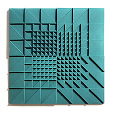 Life Twists and Turns 01 by Marek Jacisin (Ceramic Tile)