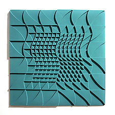 Life Twists and Turns 02 by Marek Jacisin (Ceramic Tile)