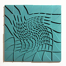 Life Twists and Turns 03 by Marek Jacisin (Ceramic Tile)